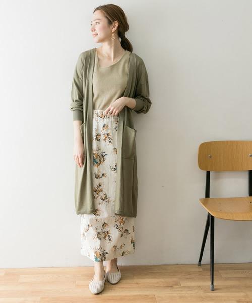福岡 10月 服装 スカート2