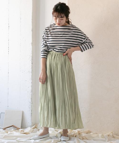 [ITEMS URBAN RESEARCH] ランダムプリーツスカート