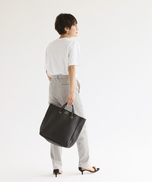 [Spick & Span] YOUNG&OLSEN】エンボスレザートート M