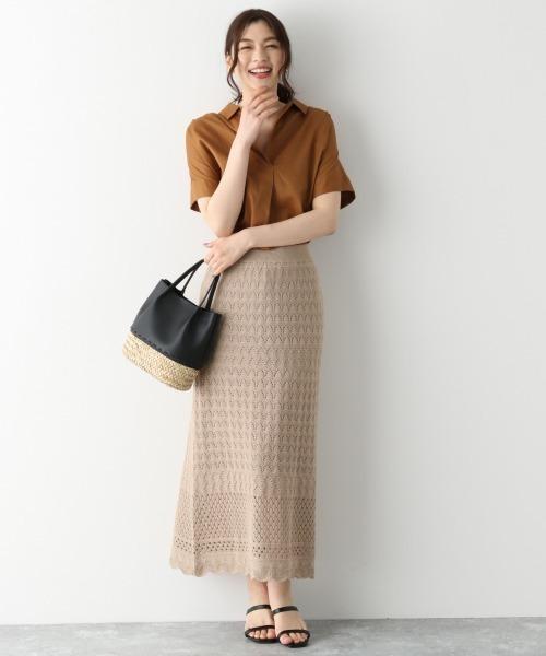 [GLOBAL WORK] サラサラスキッパーシャツ/半袖/867985