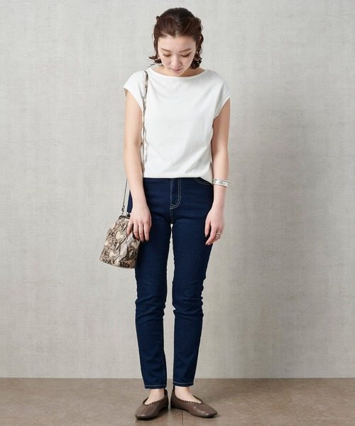[FREAK'S STORE] 【WEB限定】DEOCELL/デオセルフレンチスリーブTシャツ