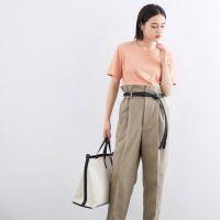夏のピンクTシャツコーデ【2020】可愛いけど幼く見えない大人女性の着こなしは?