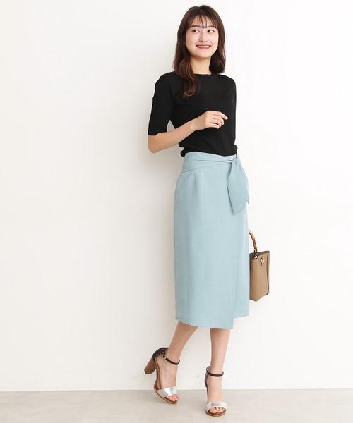 [N.(N. Natural Beauty Basic)] ◆タンブラーブッチャースカート