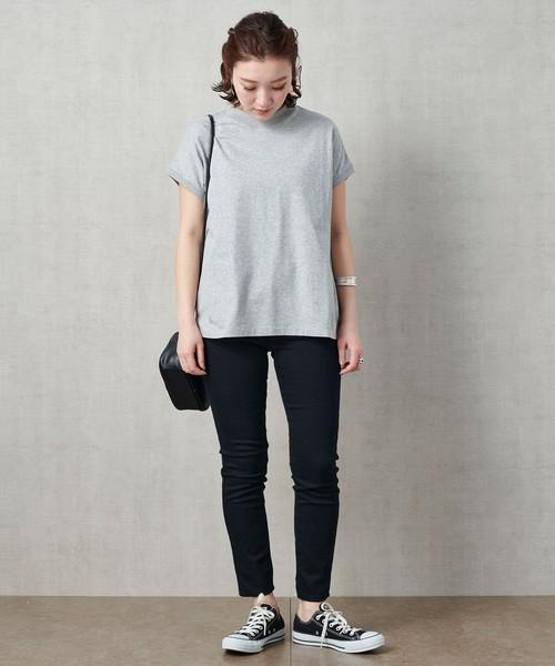 [FREAK'S STORE] 【WEB限定】〈高機能素材〉SHELTECH/シェルテック フレンチスリーブパックTシャツ