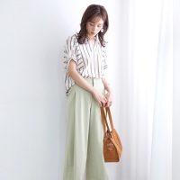 大人女子に似合うの夏の『新作ワイドパンツ』☆おすすめコーデ15選