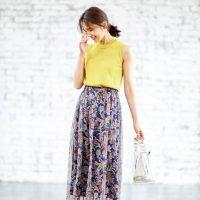 女子力上がるのはスカート♡女っぽさ際立つ《夏のスカートコーデ》15選