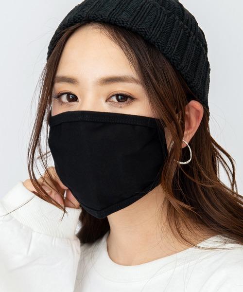 水着素材の冷感マスク