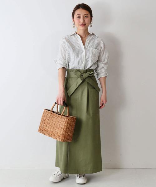 ペインター風スカート