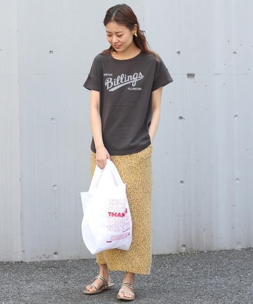 [JOURNAL STANDARD] 【HOLIDAYS COMFORT/ホリデーズ コンフォート】S/S TEE:Tシャツ◆
