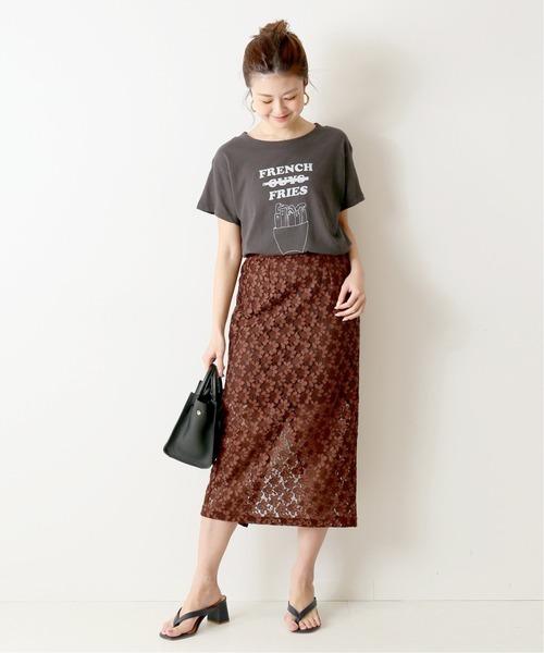 [Spick & Span] レーススカート◆