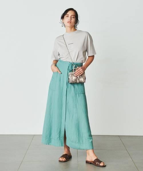 [Mila Owen] フロッキープリントTシャツ