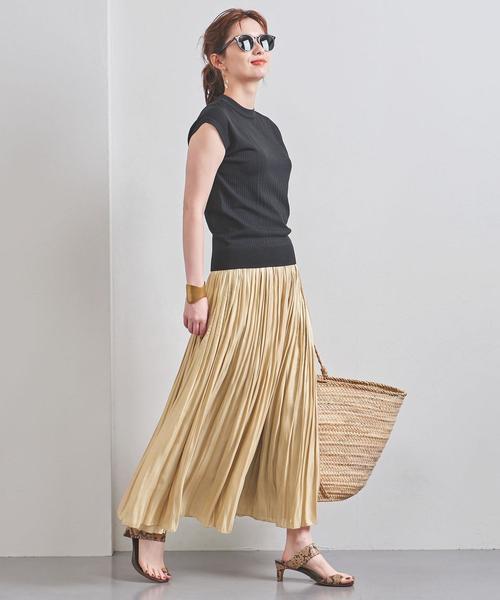 華やかで大人なシャイニースカート