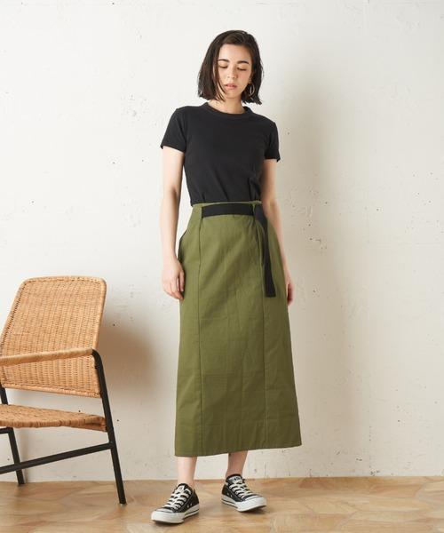 [Roomy's] Crispタイトスカート