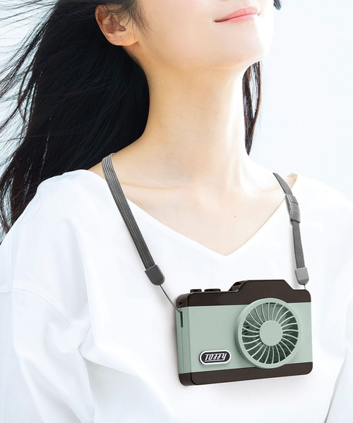 [Toffyマルシェ] 【Toffy/トフィー】 LEDハンズフリーカメラファン