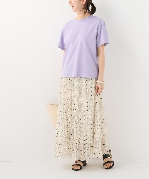 [IENA] 【JEANERICA JEANS & Co】ORGANIC COTTON Tシャツ◆