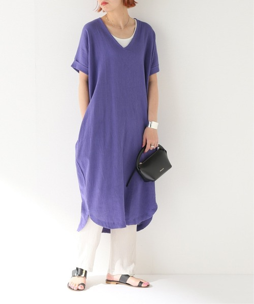 [JOURNAL STANDARD] 【AT DAWN /アット ドーン】Relax Long Dress:ワンピース◆