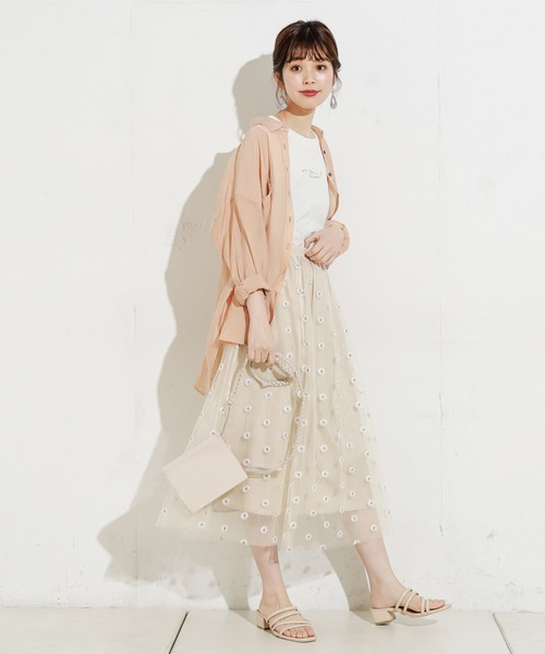 [natural couture] ちびロゴノースリT