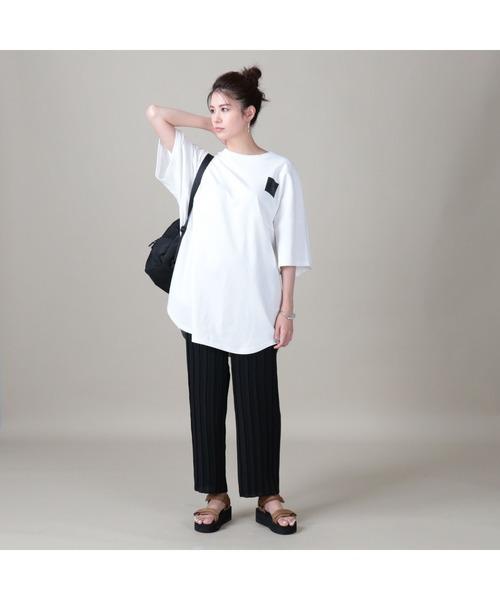 [Right-on] 【CAMP7】エンボスロゴTシャツ