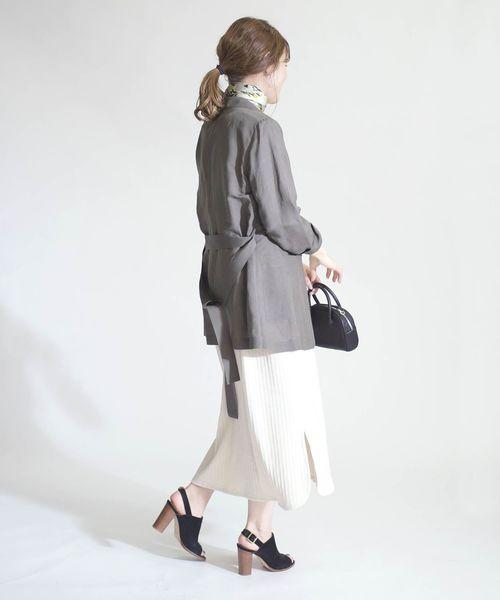 【東京】10月に最適の服装|スカート3