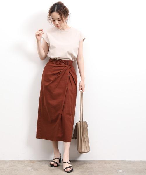 [ViS] ウエストツイストタイトスカート