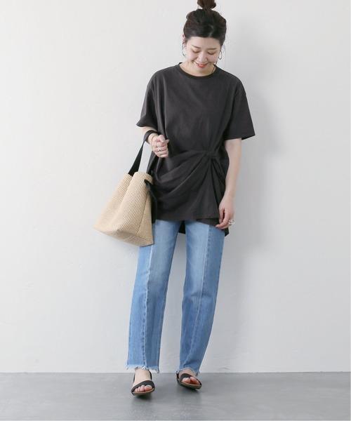 [JOURNAL STANDARD] クリアコットンクロスTシャツ◆