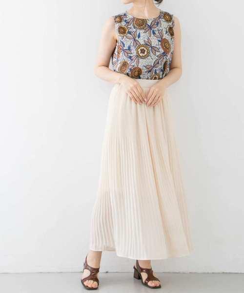 [KBF] 楊柳プリーツスカート