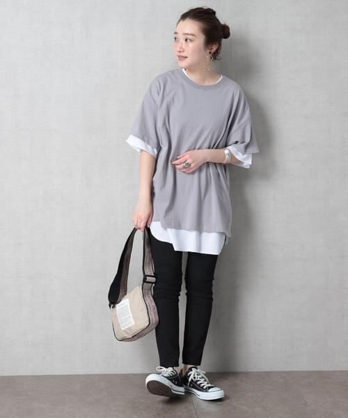 [FREAK'S STORE] 【WEB限定】ワッフルインナーセットTシャツ(2枚組)