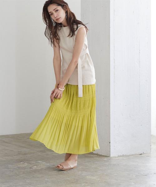 [titivate] マジョリカプリーツスカート