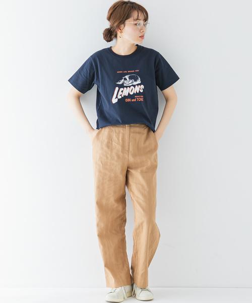 [URBAN RESEARCH] USEDLIKEロゴプリントTシャツ