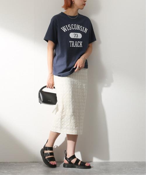 [JOURNAL STANDARD] 【NEU】キュプラリネンブロックスカート