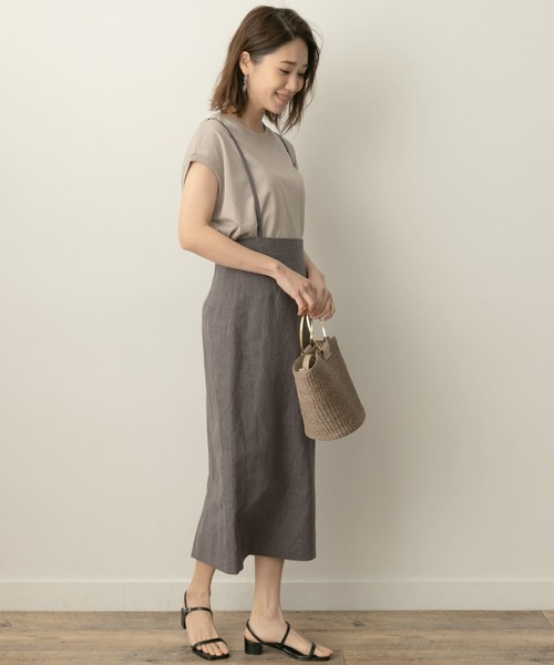 [URBAN RESEARCH ROSSO WOMEN] F by ROSSO サスペンダースカート