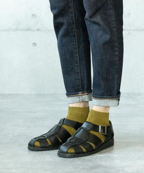 [COMMON WARE] HARUSAKUCC:Men's RIB Sneaker socks 3P set メンズ リブ スニーカーソックス3Pセット
