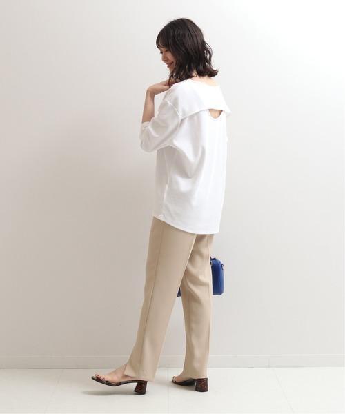 [Spick & Span] バックオープンTシャツ◆
