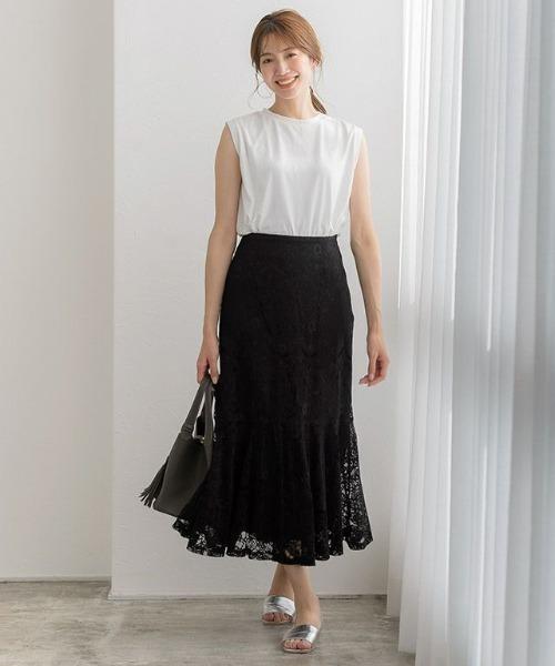 [Pierrot] レースマーメイドスカート