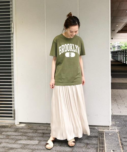 [IENA] 【Champion/チャンピオン】ロゴTシャツ◆