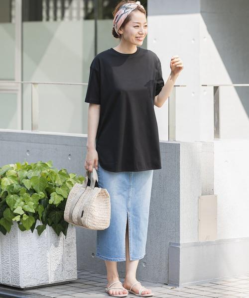 [URBAN RESEARCH] ラウンドヘムTシャツ