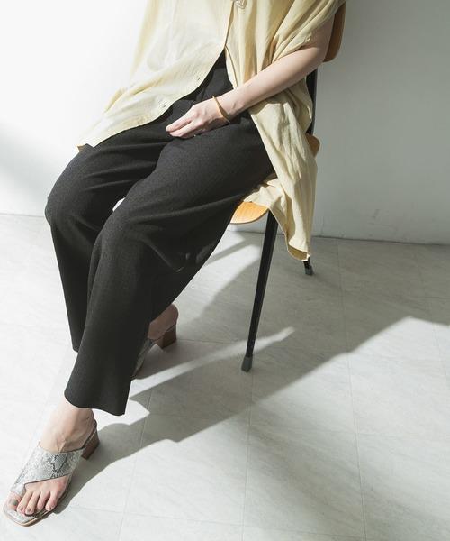 [URBAN RESEARCH] カット楊柳パンツ