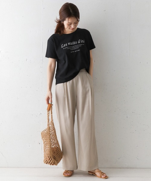 [URBAN RESEARCH DOORS] プリントロゴTシャツ