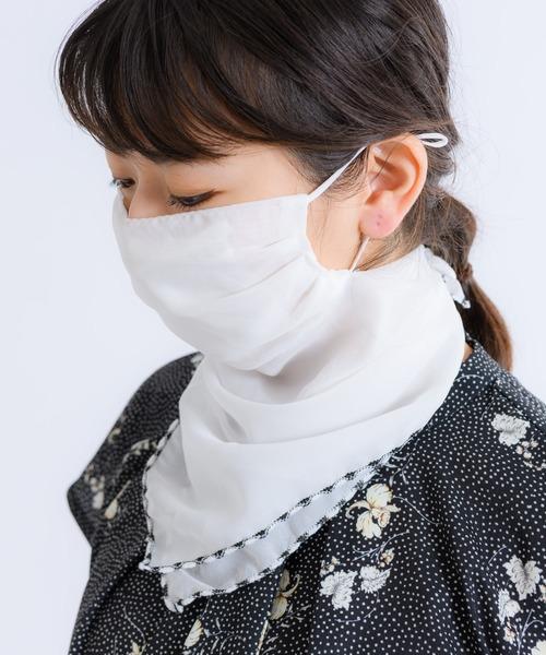 UVケアもできる冷感マスク