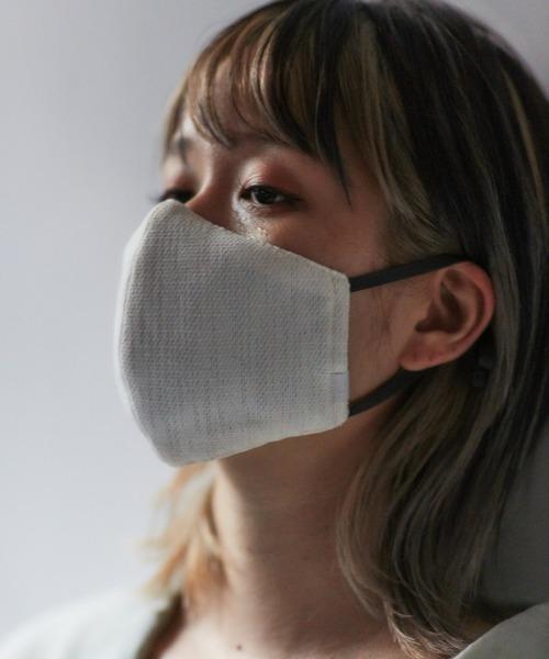 おしゃれなマスク用ケース付き冷感マスク