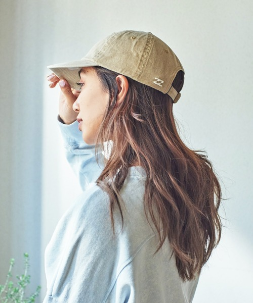 [JACK & MARIE] BILLABONG CAP(3Colors)(ビラボン キャップ)(BEIGE,INDIGO,BLACK)(Women's)(BA013-932)