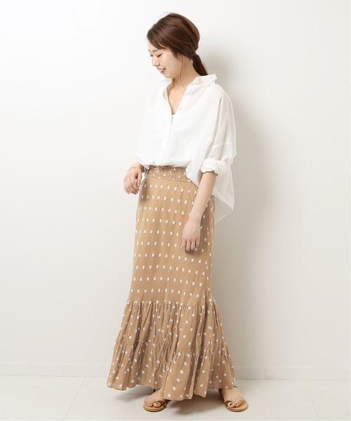 大人女子におすすめの柄スカート