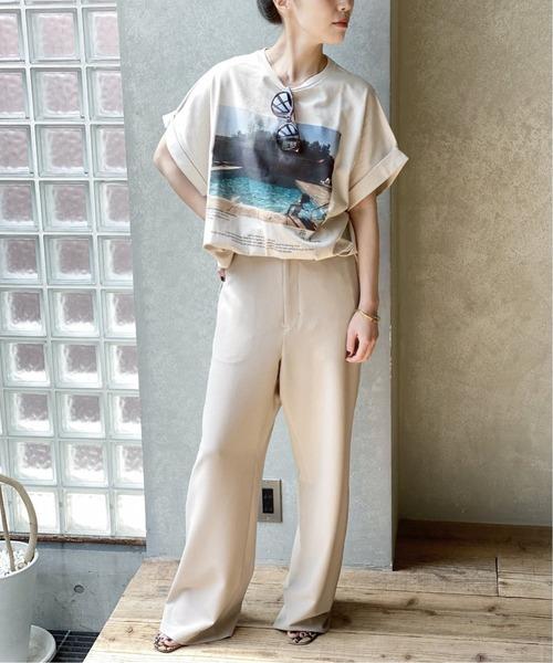 [Plage] *【JANE SMITH/ジェーンスミス】 SP PHOTO Tシャツ5◆