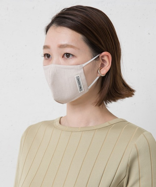 ファッション小物のようなおしゃれ冷感マスク