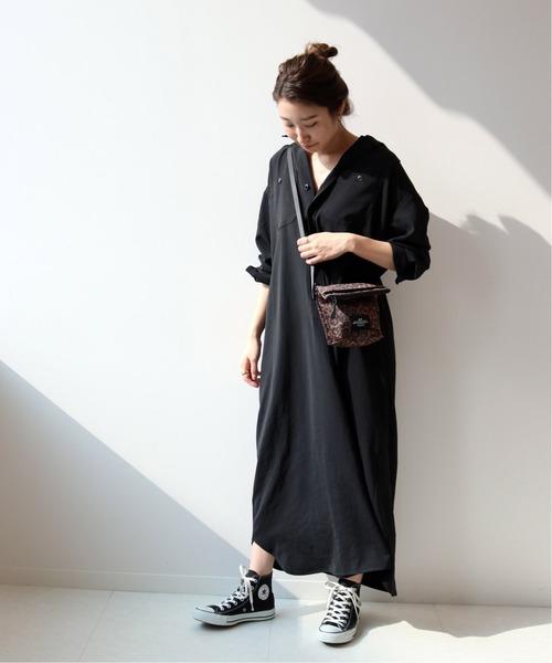 [JOURNAL STANDARD] 【BAGS IN PROGRESS】FOLDED BELT BAG LEOPARD:バッグ◆
