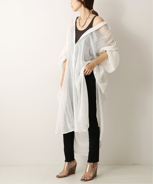 [Plage] *【MES DEMOISELLES/メドモアゼル】SP SLD OVER SHIRTS ワンピース◆
