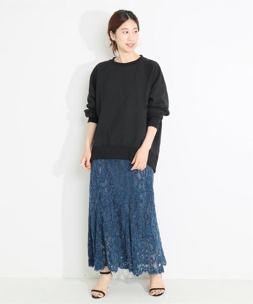 [IENA] 【SOLTO/ソルト】 バックレースアッププルオーバー◆