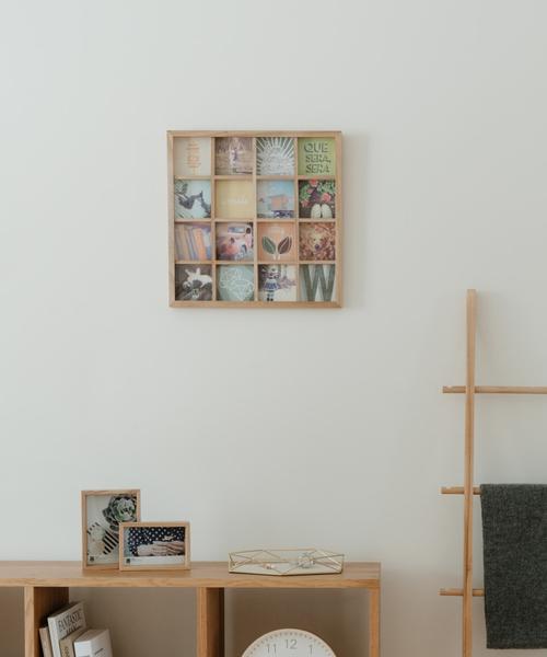 [entre square] umbra/グリッドアート フォトディスプレー ナチュラル
