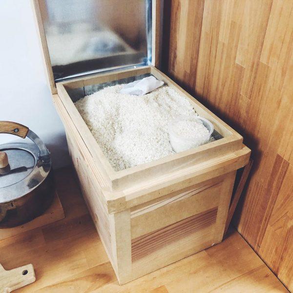 お米 収納 アイデア3