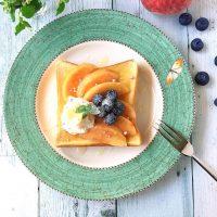 桃を使ったスイーツレシピ特集!あま〜い人気デザートがお家で簡単に作れる♪